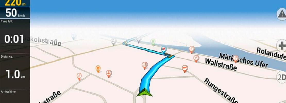 Navitel el servicio de rutas sin usar plan de datos