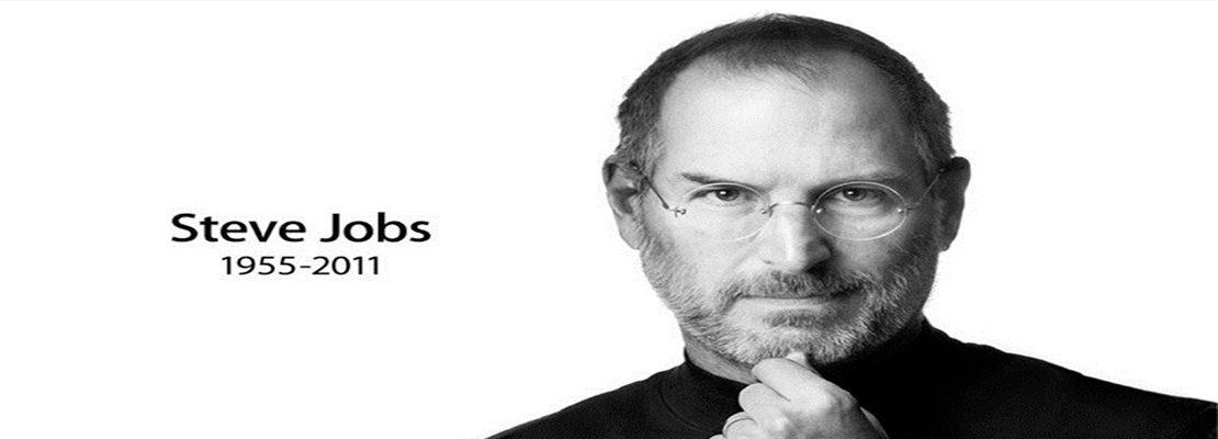 Steve Jobs explicando su estrategia de marketing