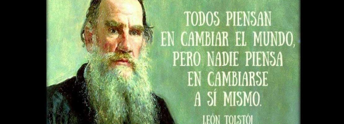 Frases de León Tolstói a 189 años de su nacimiento